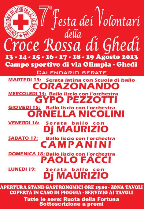 7 Festa dei Volontari della Croce Rossa Ghedi http://www.panesalamina.com/2013/14071-7-festa-dei-volontari-della-croce-rossa-a-ghedi.html