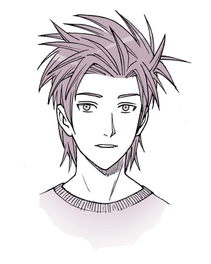 anime hair manga