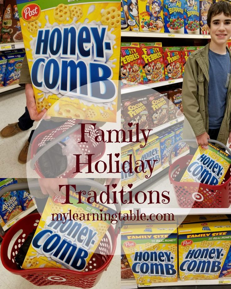 Family Holiday Traditions--a fun and easy recipe kids can make--plus an opportunity for you to enter for a chance to win $100,000! mylearningtable.com Christmas diy