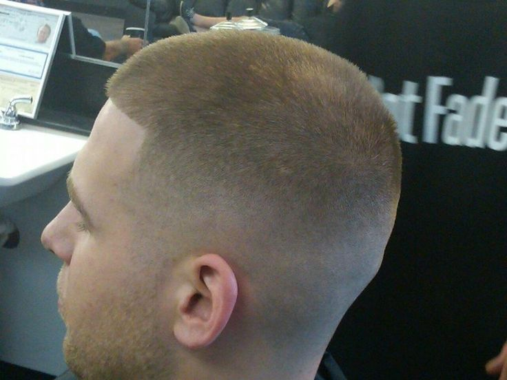 nice medium fade haircut military stars style fade