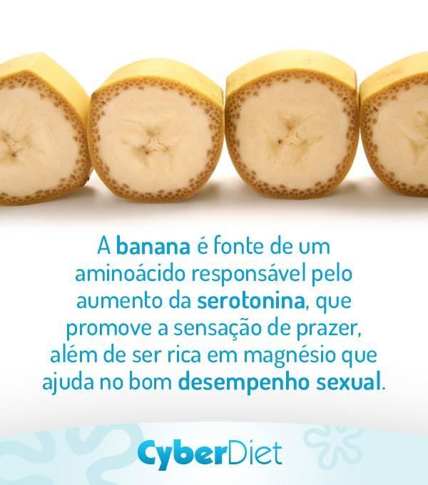 Veja porque a banana pode ser considerada afrodisíaca!
