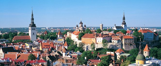 It is easy to take a ferry for one day to Tallinn from Helsinki. It's a very nice city.