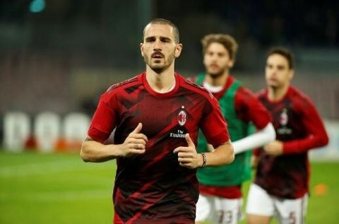 Bonucci: We need fans support to keep on dreaming about European football