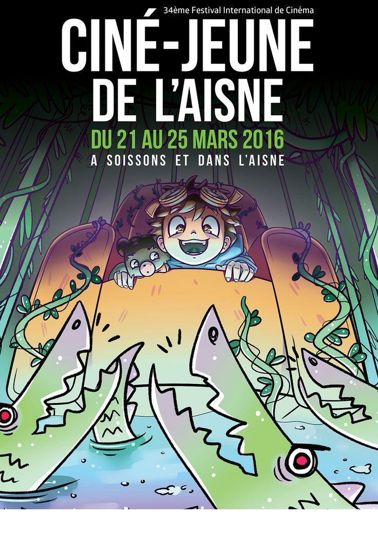 Concours Ciné Jeunes de l'Aisne, Morgane FAGGION sélectionnée dans les 6 premiers @ 3e année 2015