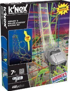 K'Nex Amazin 8-Roller Coaster Building Set: Amazon.co.uk: Toys & Games