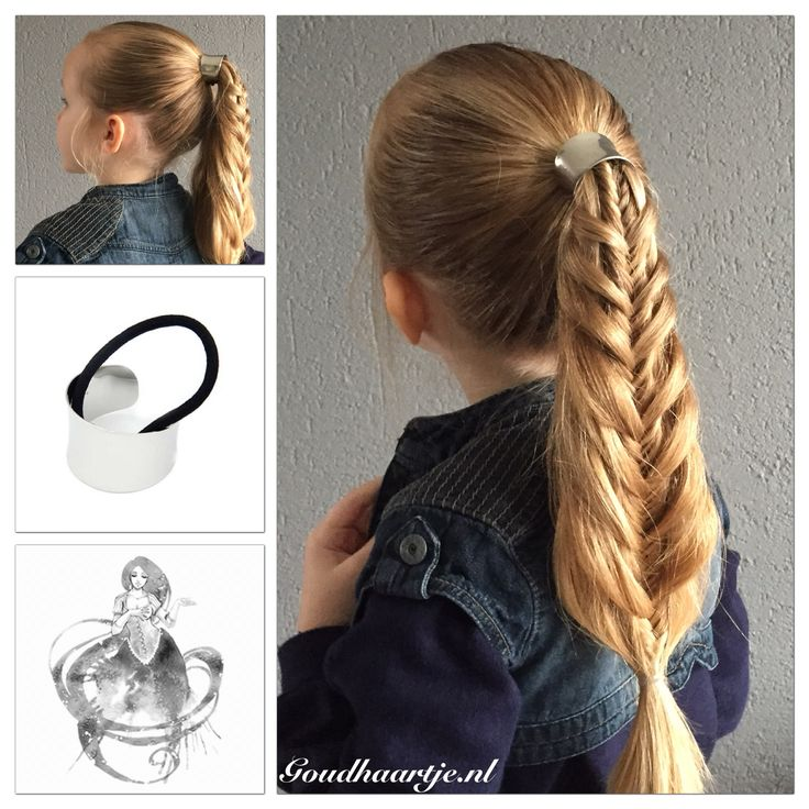 Messy mermaid fishtail ponytail with hair cuff from Goudhaartje.nl    #fishtailbraid #ponytail #hair #haircuff #hairinspiration #hairstyle #hairelastic #hairaccessories #braid #braids #longhair #beautifulhair #mermaidbraid #mermaidponytail #vissengraatvlecht #vissengraat #staart #paardenstaart #haar #haarstijl #coolhair #haarelastiek #haaraccessoires #vlecht #vlechten #langhaar #mooihaar #goudhaartje
