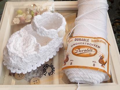 FREE PATTERN baby booties crochet pattern