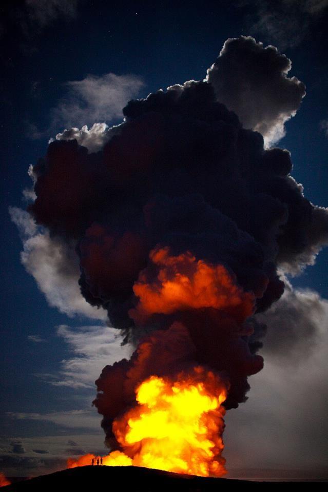 Kīlauea volcano, south shore of Big Island, Hawaii  http://www.flickr.com/photos/birzer/3613683973/