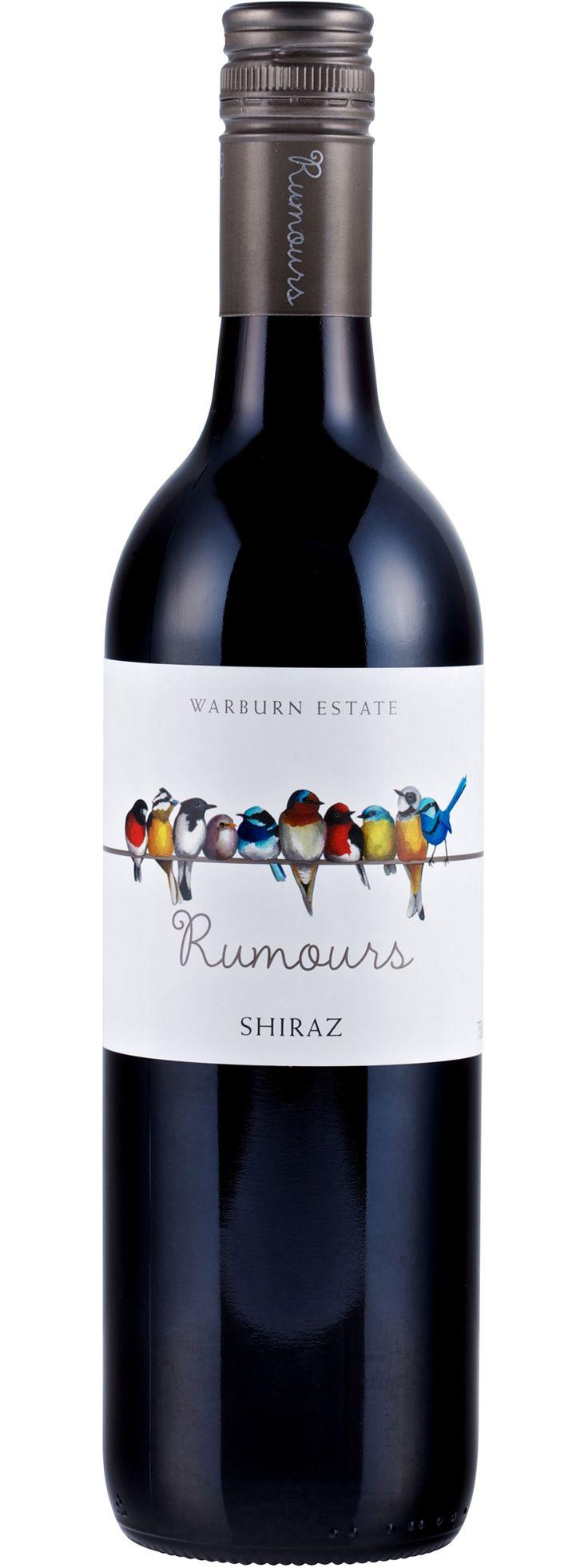 Etiqueta de vino #WineLovers #Wine #Vino #VinoTinto #AmarasElVino #Rumours #Syarh