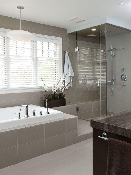 Bath by XTC Design Incorporated http://www.houzz.com/photos/1024422/richmond-hill-project-master-bathroom-contemporary-bathroom-toronto