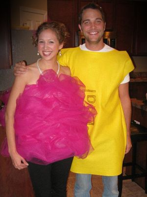 14 best bath loofah costume images on pinterest carnivals creative halloween costumes for couples solutioingenieria Gallery