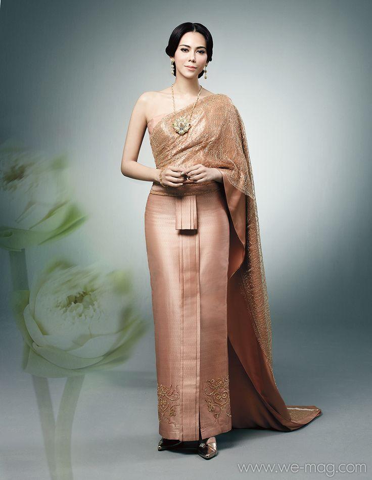 79 best Thai gowns images on Pinterest   Thai wedding ...