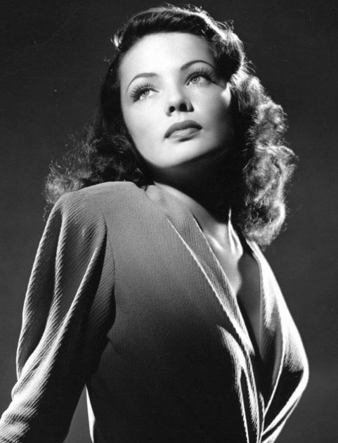 Actress Gene Tierney, 1940s - one of the most beautiful film stars ever.