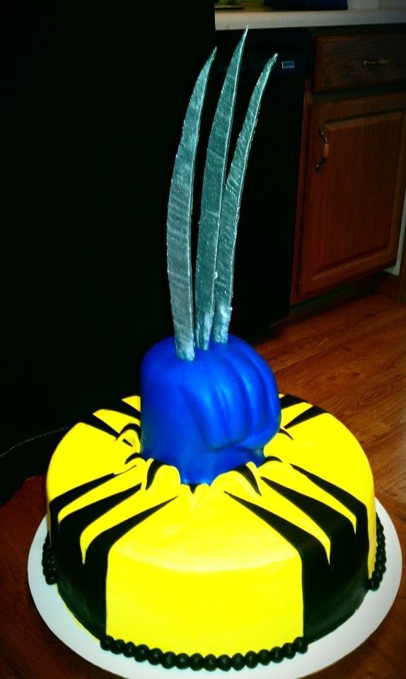 Wolverine cake....this one was super fun to make!