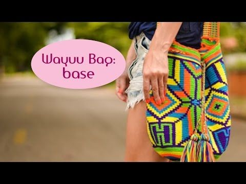 Wayuu bag: base (parte 1) - YouTube