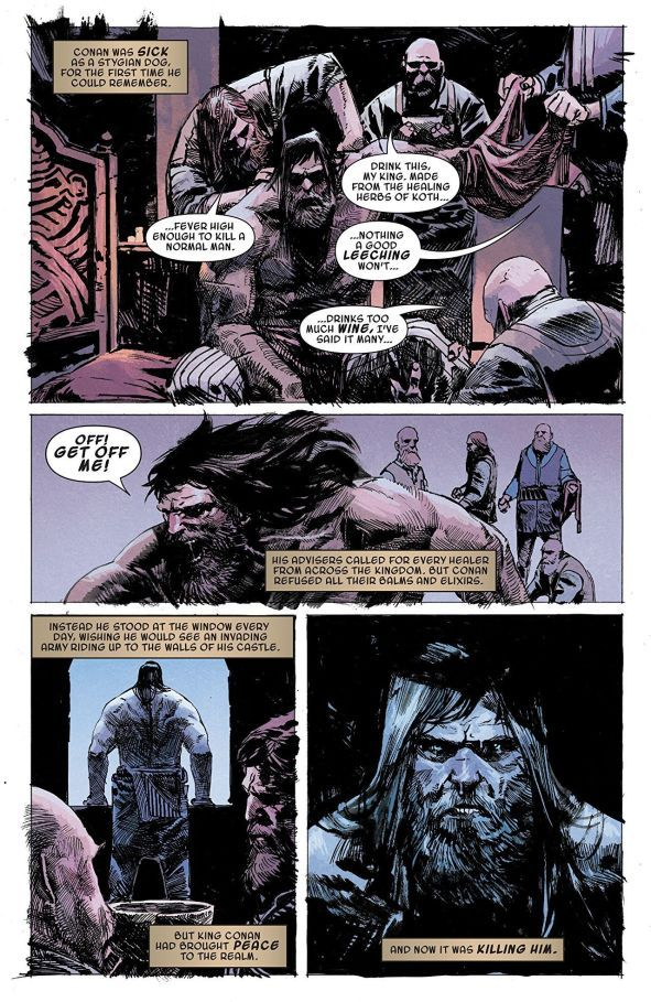 Comic Review: Conan the Barbarian (2019-) #4 - Sequential