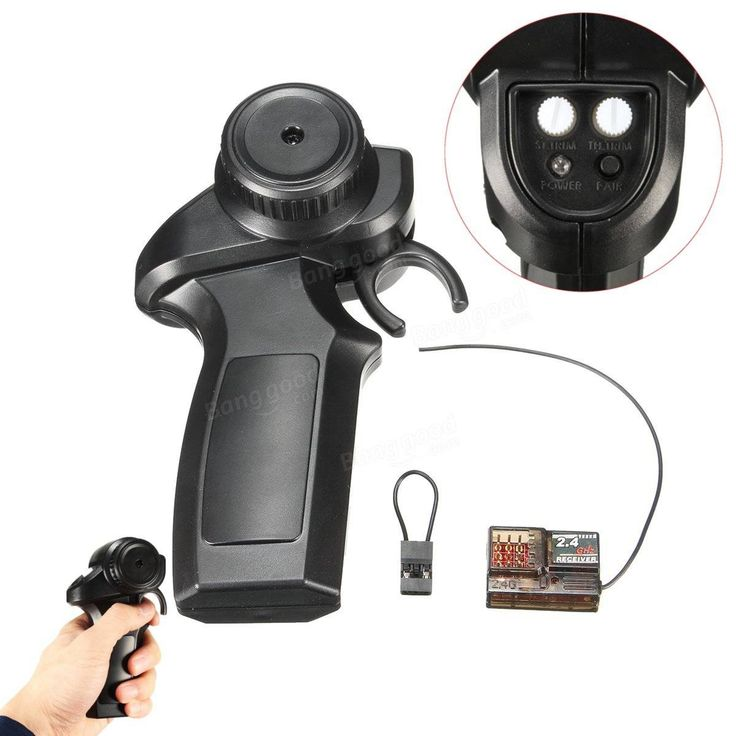 Excellway® 2.4GHz Radio Remote Controller Receiver Transmitter For Electric Skateboard Sale - Banggood.com