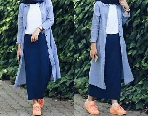 Hijab fashion in comfortable style