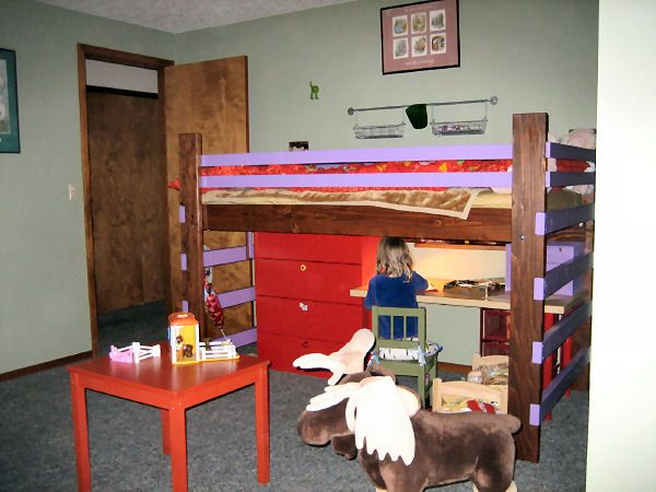 Best 11 Best High Rise Low Loft Junior Loft Platform Bed 400 x 300