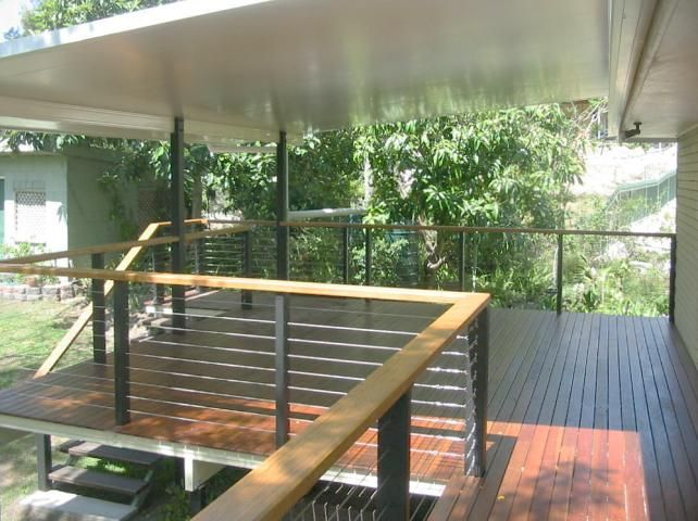 21 best railings images on pinterest deck railings deck - Decke modern ...