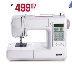 Kenmore 167-Stitch Computerized Sewing Machine from Sears Catalogue  $499.97