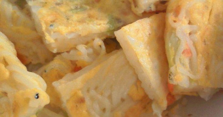 そうめんに卵や野菜を混ぜてフライパンで焼くだけ!これで大変だった後片付けにさよなら〜♪2011.5.8話題入り★