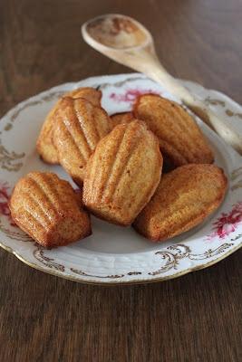 Salted Caramel Madelines