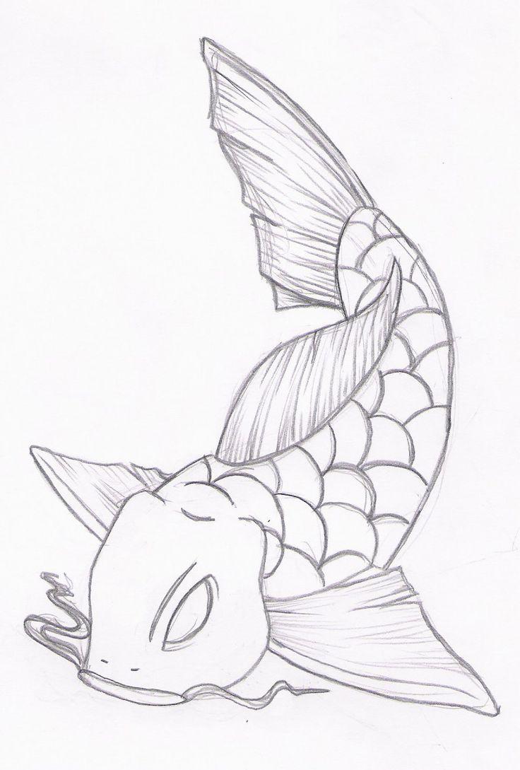 42 best pencil drawing koi fish tattoo images on pinterest fish