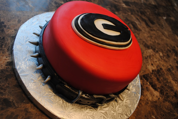 Georgia Bulldogs cake