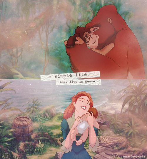Tarzan was by far one of my most favorite Disney movies when I was younger.