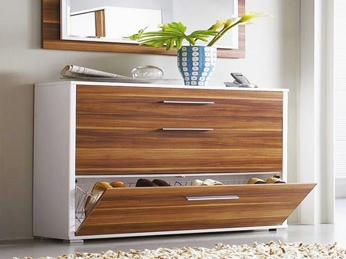 Superior Modern Wooden Shoe Storage Design Ideas