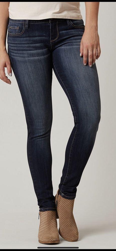 38adb1f21faf Daytrip Skinny #Jeans Buckle Virgo Ankle Stretch Women's Size 27 X 24 NWT  #Daytrip