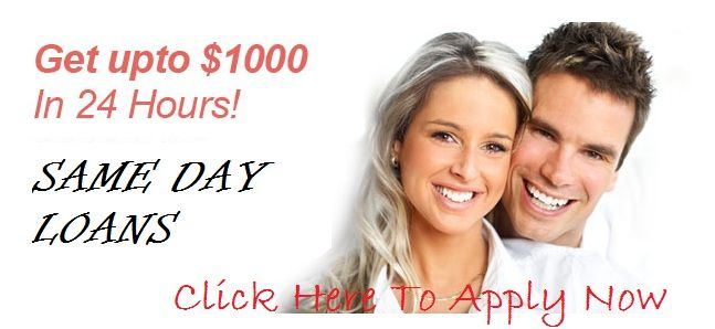 Need fast cash help in same day! You can apply for same day loans and get cash help within few hours via online. These loans are complete of an application form you can get cash today without any credit checks and hassle free. So, you can apply here and get cash must have within 24 hours at online.