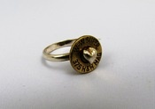Image of Bullet Ring with Heart