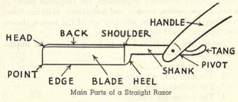 """Wish dad had taught us to shave with one of these. The lingo sounds much manlier than """"vibrating head"""" and """"lubricating strip."""""""