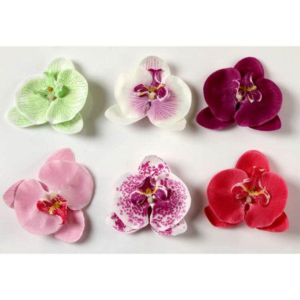 Blomma hårspännen håraccessoarer