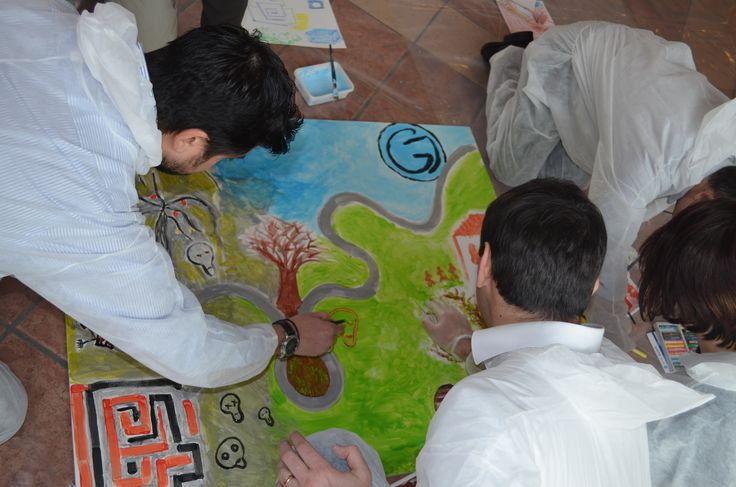 Action Painting by Teambuilding Experience