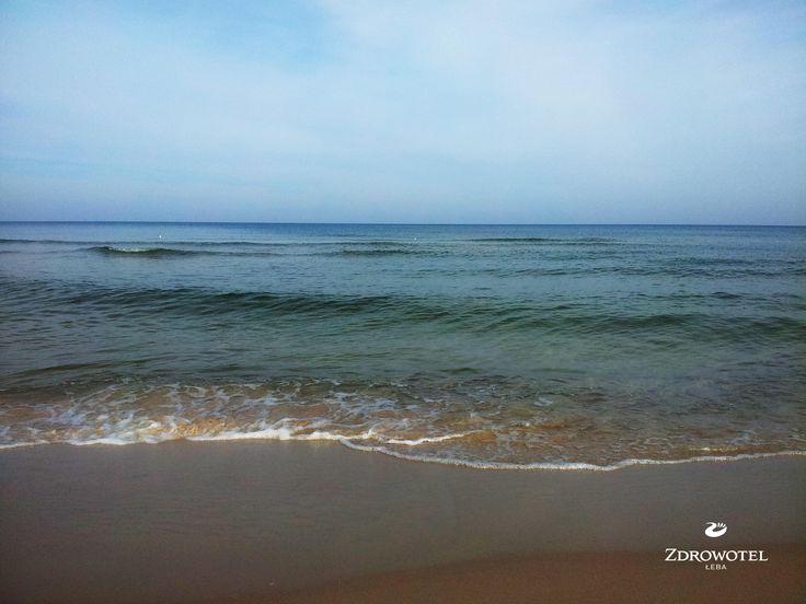Jesień zawsze kojarzy nam się wielką gamą kolorów. Morze nas nie zawiodło.