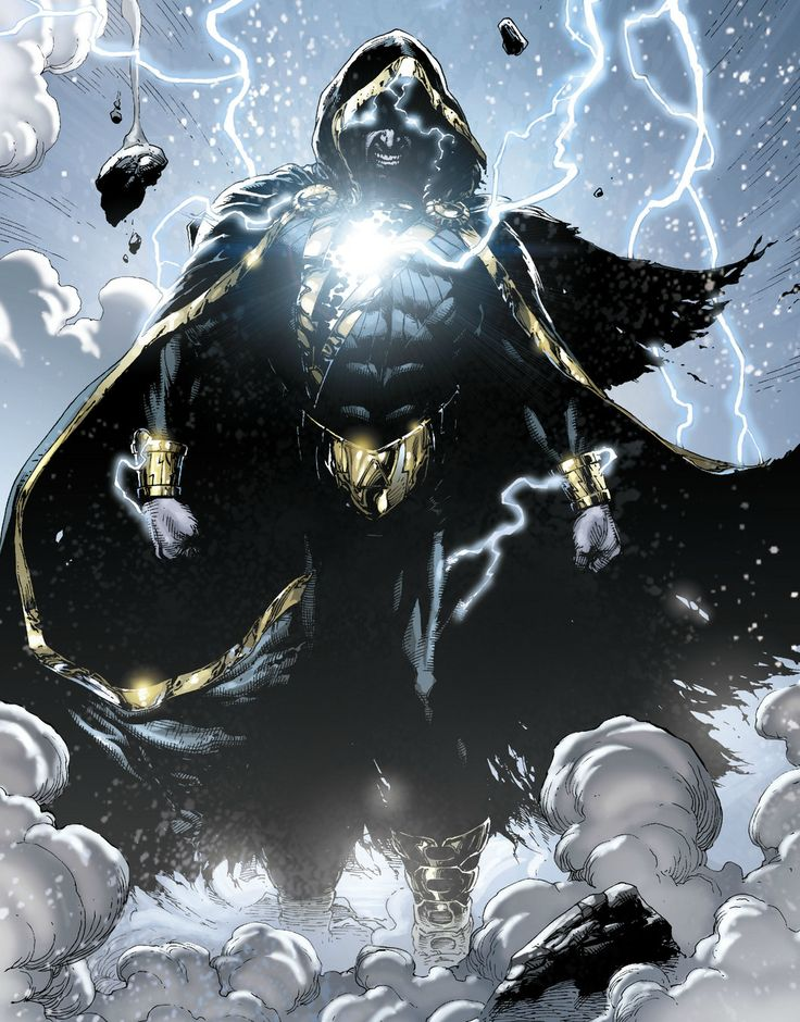 Black Adam, one of my favorite villains. Also antagonist to perhaps my all time favorite hero, Shazam!