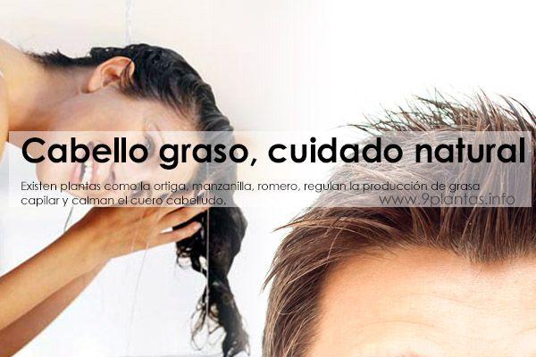 Existen plantas como la ortiga, manzanilla, romero, regulan la producción de grasa capilar y calman el cuero cabelludo.