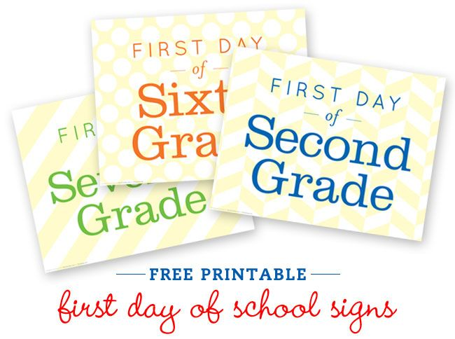 First Day of School: Idea, First Day Of Schools, Back To Schools, School Pictures, Schools Photo, Free Printable, Schools Pictures, Schools Signs, Schools Printable