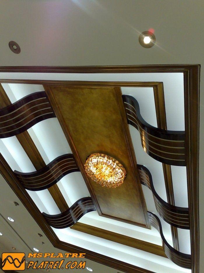 Decoration Platre Couloir. Elegant Decoration Platre Plafond Simple ...