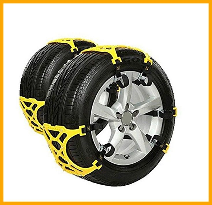 Anti Snow Chains Of Car SUV Chain Tire Emergency Thickening Anti Skid Chain 6 pc #TZCarAccessories