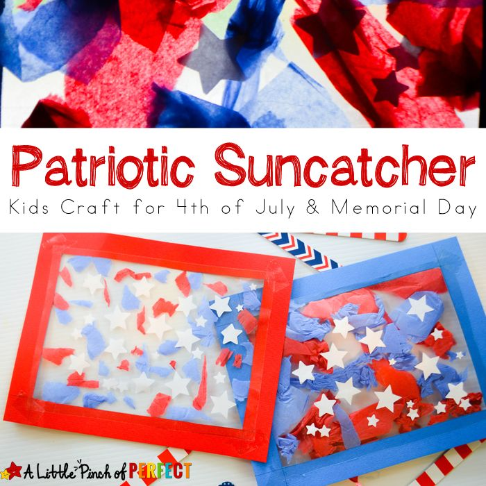 4th of july crafts for kids patriotic suncatcher craft for fourth of july 7374