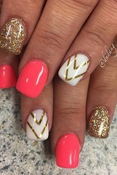 Summer Nail Designs You Should Try in July ★ See more: http://glaminati.com/summer-nail-designs-try-july/ #artsandcrafts,