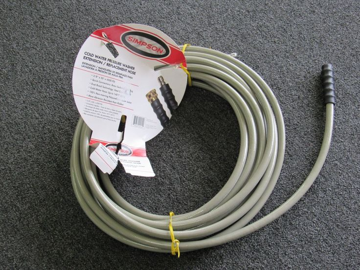 """Simpson 41028 Pressure Washer Hose 3/8"""" x 50' 4500 PSI Cold Water"""
