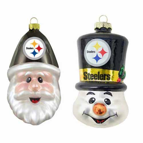 PITTSBURGH STEELERS~Christmas steelers ornaments- Google Search