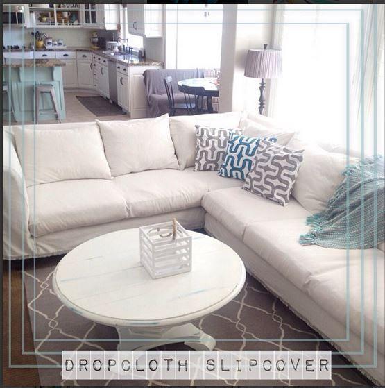 Sofa Slipcover No Sew