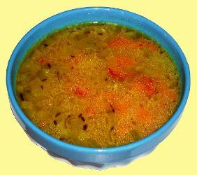 Aloo Rasam - Supa de Cartofi indiana