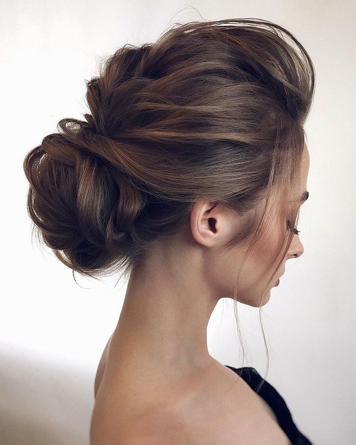 Gorgeous Soft & Feminine Wedding Hairstyles,bridal upstyles,updo hairstyles,messy updo hairstyles